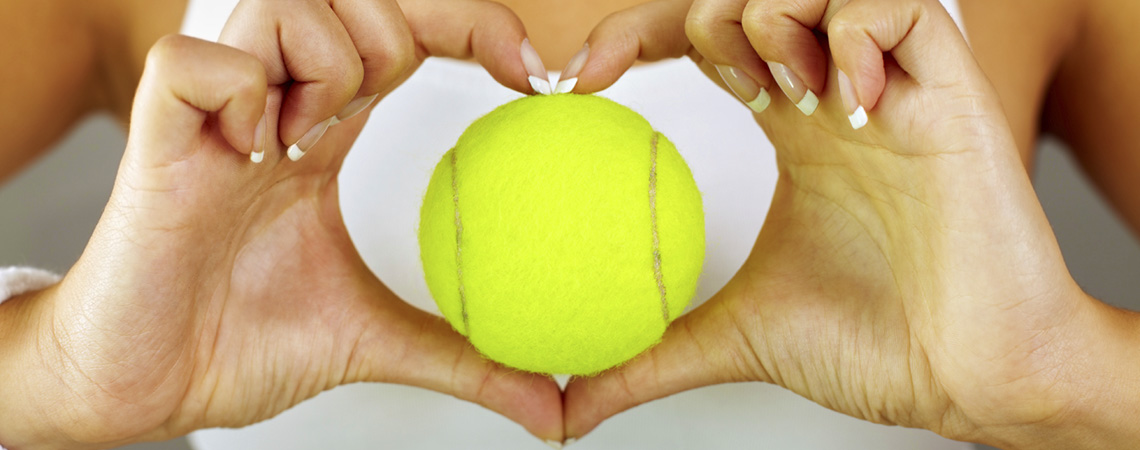 Wir lieben Tennis!
